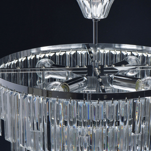 Pendelleuchte Adelard Crystal 5 Chrom - 642013305 small 9