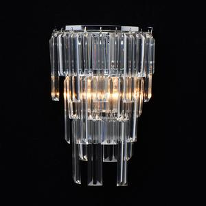 Wandleuchte Adelard Crystal 1 Chrom - 642023401 small 1