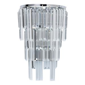 Wandleuchte Adelard Crystal 1 Chrom - 642023401 small 0