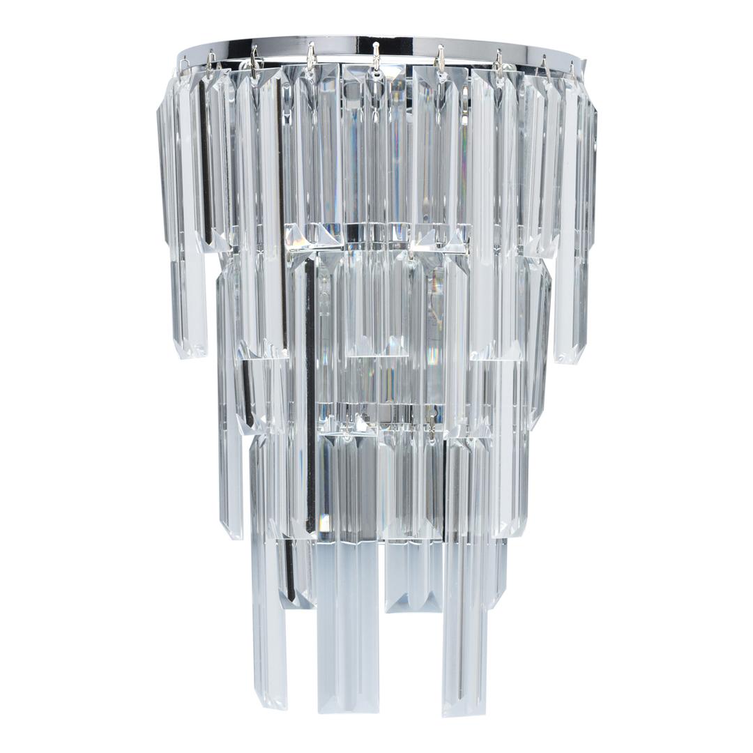 Wandleuchte Adelard Crystal 1 Chrom - 642023401