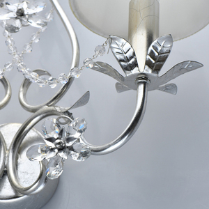 Wandleuchte Valencia Elegance 2 Silber - 299022102 small 4