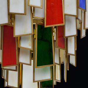 Hängelampe Marokko Megapolis 6 Messing - 185011106 small 12