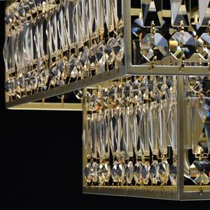 Hängelampe Monarch Crystal 6 Gold - 121012306 small 11