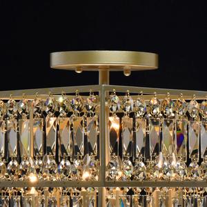 Hängelampe Monarch Crystal 6 Gold - 121012306 small 4