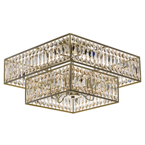 Hängelampe Monarch Crystal 6 Gold - 121012306 small 0
