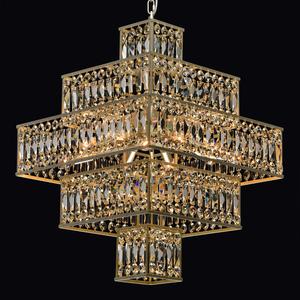 Hängelampe Monarch Crystal 16 Gold - 121012416 small 1