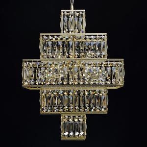 Hängelampe Monarch Crystal 16 Gold - 121012416 small 3