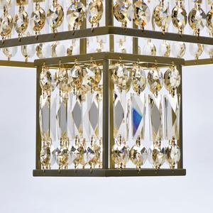 Hängelampe Monarch Crystal 16 Gold - 121012416 small 6