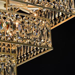 Hängelampe Monarch Crystal 16 Gold - 121012416 small 7