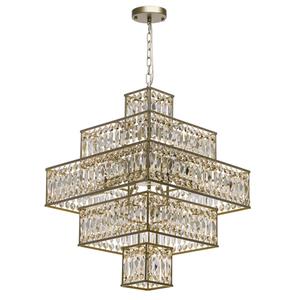 Hängelampe Monarch Crystal 16 Gold - 121012416 small 0