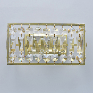 Wandleuchte Monarch Crystal 2 Gold - 121022202 small 2
