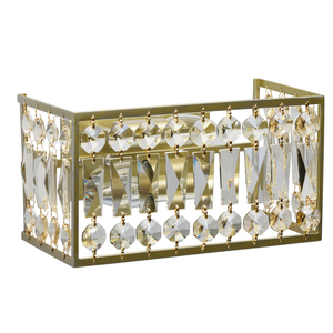 Wandleuchte Monarch Crystal 2 Gold - 121022202 small 0