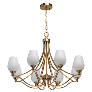 Pendelleuchte Palermo Elegance 8 Messing - 386016708 small 0