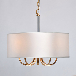 Pendelleuchte Palermo Elegance 5 Messing - 386017605 small 4