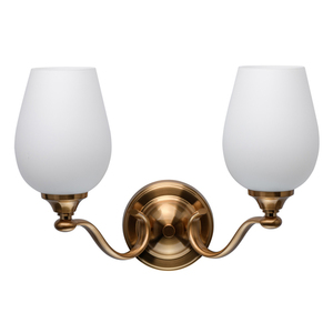 Wandleuchte Palermo Elegance 2 Messing - 386026602 small 0