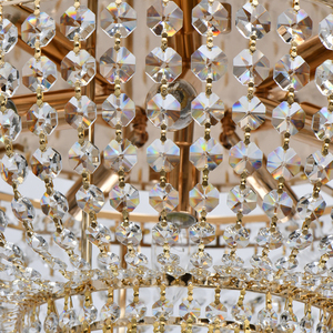 Hängelampe Patricia Crystal 6 Gold - 447011406 small 4