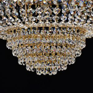 Hängelampe Patricia Crystal 6 Gold - 447011406 small 6