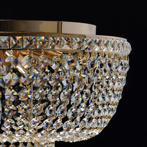 Hängelampe Patricia Crystal 6 Gold - 447011406 small 2