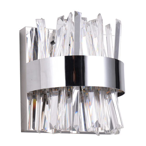 Wandleuchte Adelard Crystal 24 Chrom - 642024401