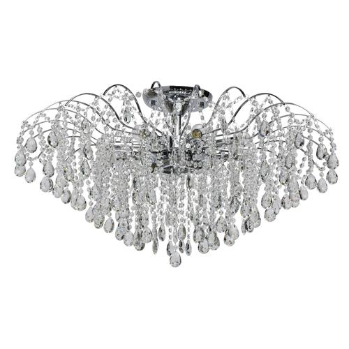 Hängelampe Venezia Crystal 12 Chrom - 111013212