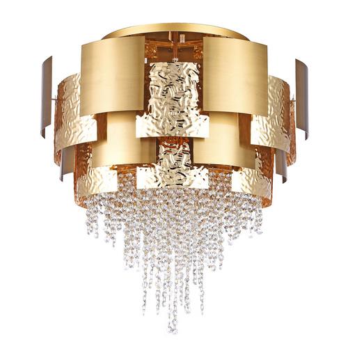 Hängelampe Carmen Crystal 16 Gold - 394011816