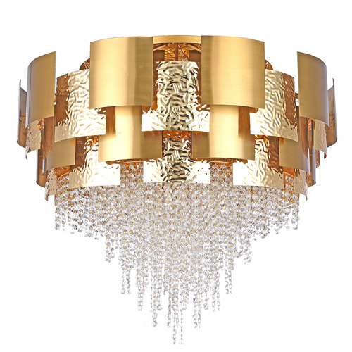 Hängelampe Carmen Crystal 24 Gold - 394011924