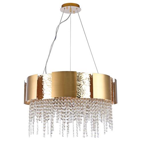 Hängelampe Carmen Crystal 12 Gold - 394012112
