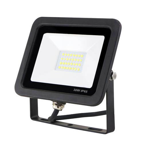 LED Flutlicht schlank mit Bewegungssensor 30W / 230V 6400K