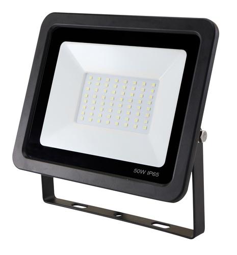 LED 50W / 230V 6400K flacher Scheinwerfer