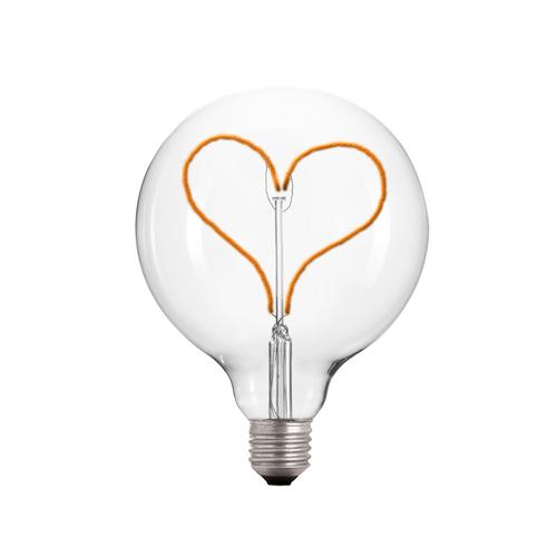 Dekorative LED Herz Glühbirne E27 3.5W 2000k 230V