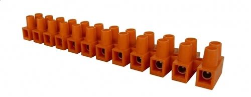 4 MM 12-Spur-Klemmenblock