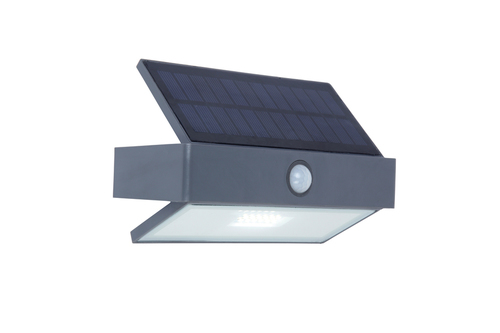 Outdoor Solar Wandleuchte mit Bewegungssensor Lutec ARROW