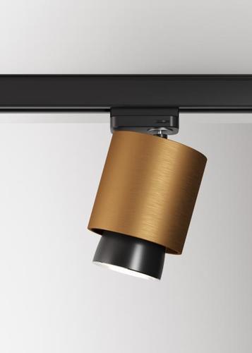 Fabbian Claque F43 20W Stromschiene - Bronze - F43 J01 76