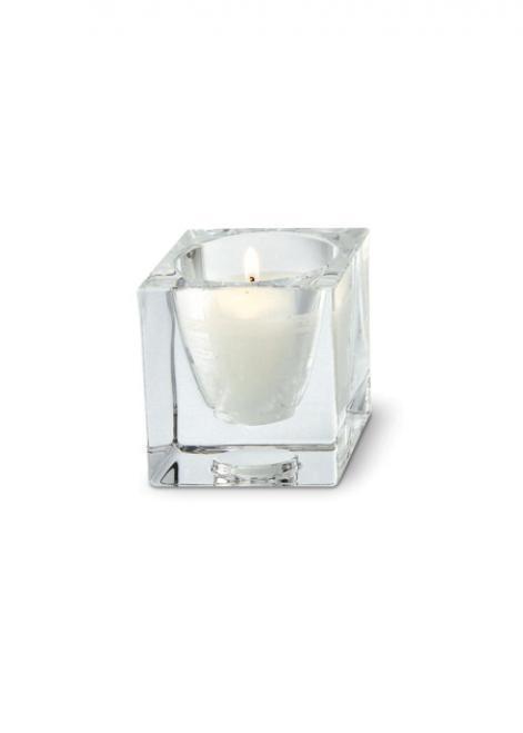 Fabbian Cubetto D28 Dekoration für eine Kerze - Transparent - D28 Z01 00