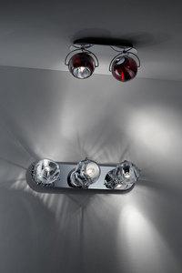 Fabbian Beluga Color D57 7W Deckenleuchte Triple - Kupfer - D57 G25 41 small 10