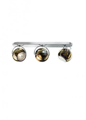 Fabbian Beluga Color D57 7W Deckenleuchte Triple - Kupfer - D57 G25 41