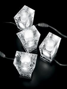 Fabbian Vicky D69 5W Tischlampe + Lampenschirm - Weiß - D69 B03 01 small 12
