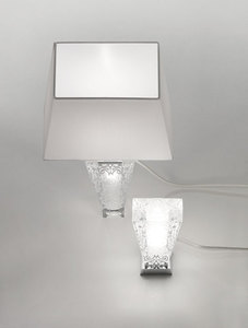 Fabbian Vicky D69 5W Tischlampe + Lampenschirm - Weiß - D69 B03 01 small 2