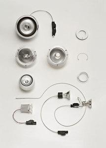 Fabbian Tools F19 LED Einbauleuchte - chrom - F19 F63 15 small 7