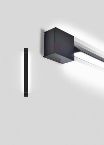 Wandleuchte Fabbian Pivot F39 23W 2700K - Anthrazit - F39 G02 21