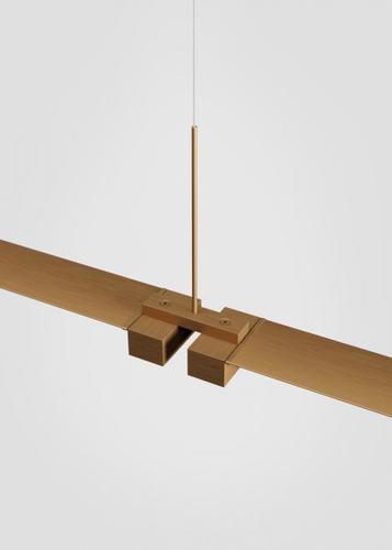 Fabbian Pivot F39 Zubehör Doppelverbinder - Bronze - F39 Z01 76
