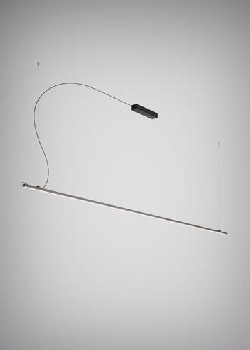 Hängelampe Fabbian Freeline F44 2W 3m - Schwarz - F44 A06 02