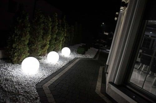 Elektrokugel - Flexi Ball Electric 40 cm mit Kabel und Glühlampe