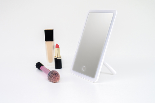 Kosmetikspiegel mit LED-Beleuchtung