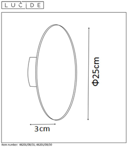 Lucide EKLYPS LED 46201/08/30 small 1