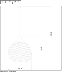 Lucide MESH 78391/50/30 small 1