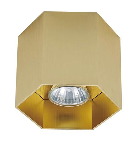 Zuma Linie 20035-GD POLYGON CL 1 SPOT GOLD / GOLD