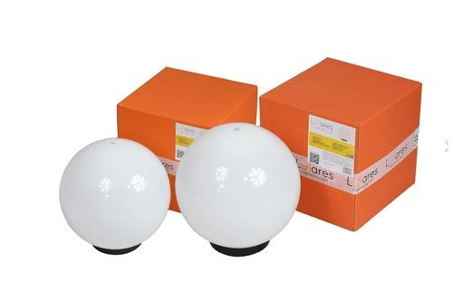 Set mit 2 Gartenbällen - Luna Balls: 25, 30cm