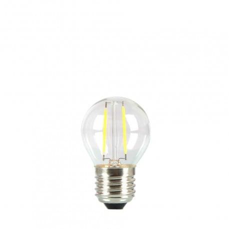 Birne für Girlande LED Kugel 45mm 2W transparente Farbe der Hitze