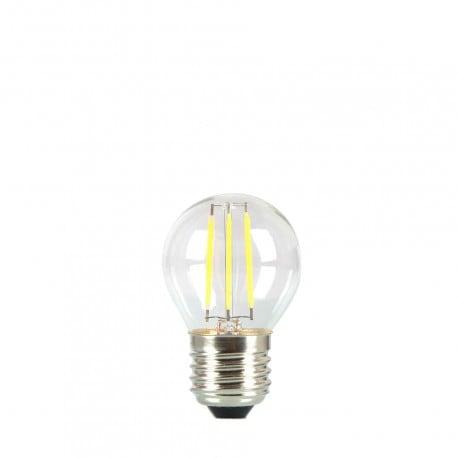 Birne für Girlande LED Kugel 45mm 3.7W transparente Farbe sehr warm